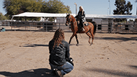 Episode 11: Christy Moll and Brian Cahill performing with Arabian Horse